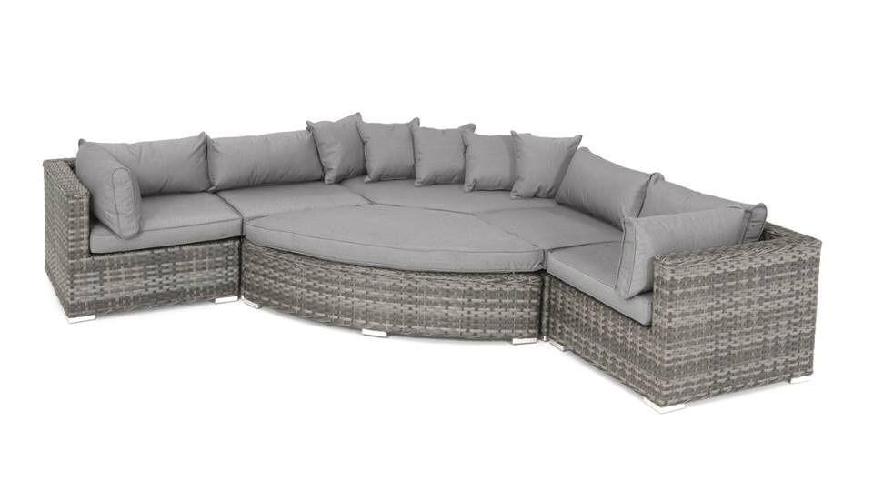 rattan cordoba corner sofa set garden furniture outdoor patio seating special offer 79900