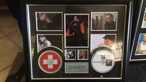 EMINEM LIMITED EDITION FRAMED PRINTS. PRICE NEGOTIABLE. URGENT SALE Kidman Park Charles Sturt Area Preview
