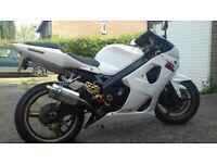 GSXR 1000 K4 ALPINE WHITE FOR SALE FOR FAMILY REASONS
