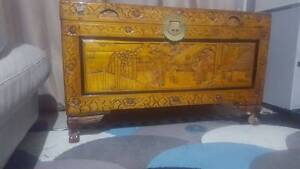 Large Chest, Glory Box, Blanket Box, Storage Box, Camphor Chest Flinders View Ipswich City Preview