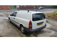 2002 vauxhall astra van 1.7 turbo diesel manual with mot till end of march 2019 £650 NO OFFERS