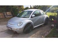 VW New beetle project car 281 bhp