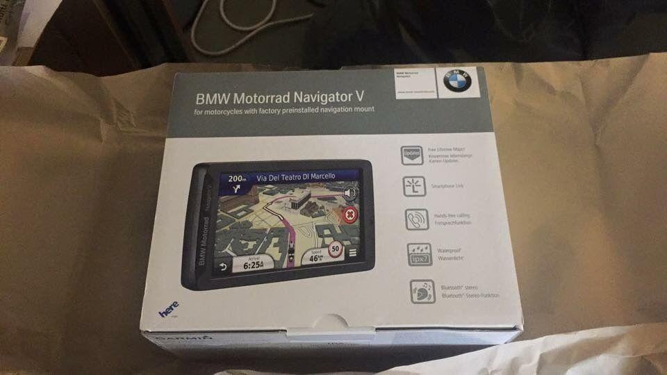 bmw motorrad navigator v brand new sealed in box navigator 5 gps in marylebone london. Black Bedroom Furniture Sets. Home Design Ideas