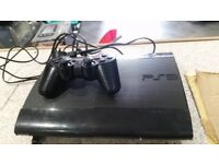 500GB SUPERSLIM PS3 WITH GAMES BUNDLE