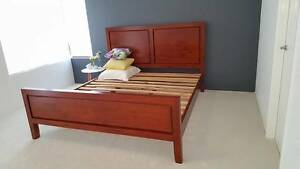 King Size Wood Bed Frame Meadow Springs Mandurah Area Preview