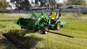 GET SLASHED MINI DIGGER & TRACTOR HIRE  Regional Perth WA