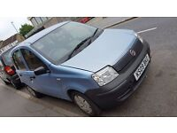 FIAT PANDA 2009 VERY LOW MILLAGE(7280) LITRE (1.1) (5DR) ONE YEAR MOT ONLY £1,350
