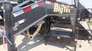 """2015 Big Tex 102"""" X 25+5' Heavy Flat Deck"""