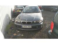 BMW 318 COUPE PETROL FULL MOT
