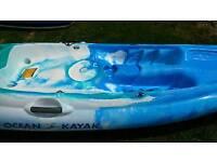 New Ocean Kayak sport sturdy super light was £700