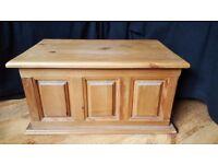 handmade pine box