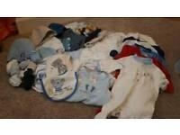 Baby Boys Clothes Newborn to 3 months