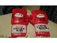 Signed Boxing gloves for sale
