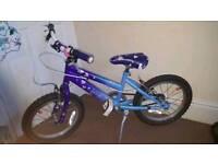 Girls Rayleigh bike