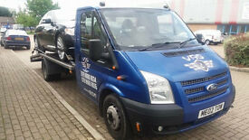 VEHICLE RECOVERY TRANSPORT BREAKDOWN DAMAGED SALVAGE NON RUNNER MOT FAILURE COPART HBC DELIVERY