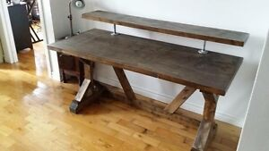 Functional rustic desk for home office / computer