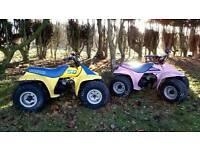 2x suzuki LT50 quads