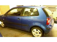 2002 vw polo 1.2 s for breaking all parts available