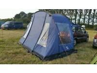 VANGO VW camper (or similar), drive away, awning