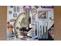 Childrens Petit Microscope 100x 600x 1200x