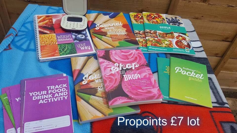Big bundle for propoints weight watchers, including predometer