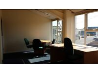 3-4 Person Office Rental fr £75wk 24hr Access/Car Pk/Fully Serviced & 5 mins fr M27 & Central Ports