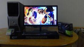 REEBOT PC - HP Dell Lenovo Computer Desktop PC - Virus Removal - Fresh Install - Monitor
