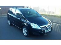 VAUXHALL ZAFIRA 1.8 EXCLUSIVE 7 SEATER - MOT SEPT 2017! JUST HAD £600 SPENT ON. REDUCED TO SELL.