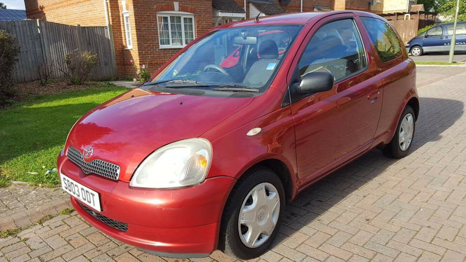 2003 TOYOTA YARIS 1.3 PETROL VVTI COLOR COLLECTION, 9 MONTHS MOT LADY OWNER, FULL SERVICE HISTORY42K