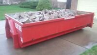 Dirt or Concrete Bins For Rent/ Clean Fill Dumpster