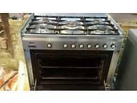 Smeg range cooker 31 in wide