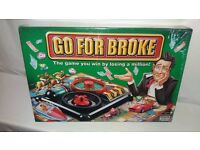 Go for Broke by Parker / Hasbro 2004 Brand New & Sealed