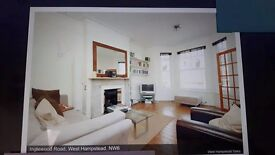 Spacious Central 1 Bed Flat, Inglewood Road, West Hampstead, London NW6.