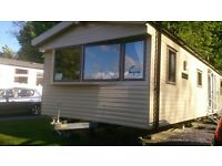 Sunnyglade 8 - Private Hire 8 Berth Caravan situated in Kiln Park, Tenby