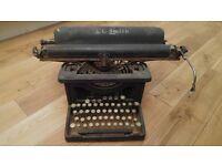 Vintage 1940-50's typewriter ornament art deco shabby chic JC Smith
