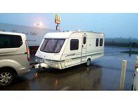 2003 swift 4 berth fixed bed caravan