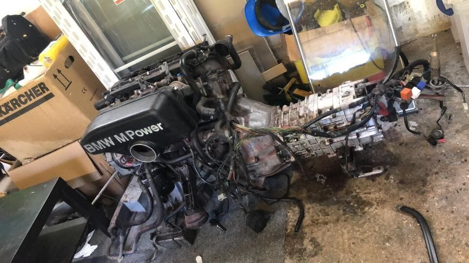 bmw e30 m3 engine complete in dagenham london gumtree. Black Bedroom Furniture Sets. Home Design Ideas