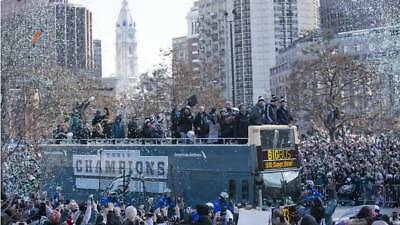 Philadelphia Eagles Championship Parade Broadcast   6 Abc