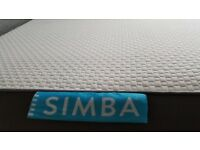 Brand New Ex Display Simba Hybrid, Luxury Double Mattress 135x190cm RRP£699 HUGE SALE NOW