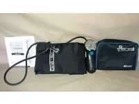 Keeler Vista Sphyg Tested & Working w Instructions - Good Condition in Carry Bag