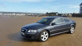 audi a8 3.0tdi quattro sport 2006 FSH just been full serviced,.New Mot