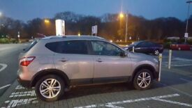 Very nice looking NISSAN QASHQAI for SALE. EXCELLENT FOR FAMILIES with reasonable mileage of 68000