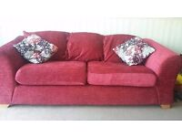 3 seater + 2 seater sofas - as new