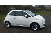 Fantastic condition Fiat 500 - very low mileage due to job abroad