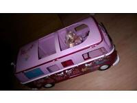 Barbie Steffi camper with accessories