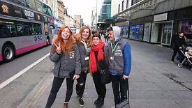 Face-to-face Oxfam street fundraiser - immediate start - £8.50-£14/hr
