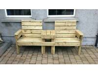 Jack & Jill bench for sale  County Tyrone
