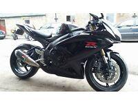 Suzuki gsxr 600 black