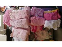 Baby girls bundle of clothes 0-3 months