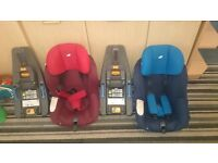 2 Joie Isofix Car Seats with iAnchors